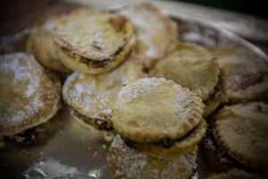 Mince Pies at the 2015 Christmas Grotto Event at the Ile Youth & Community Centre